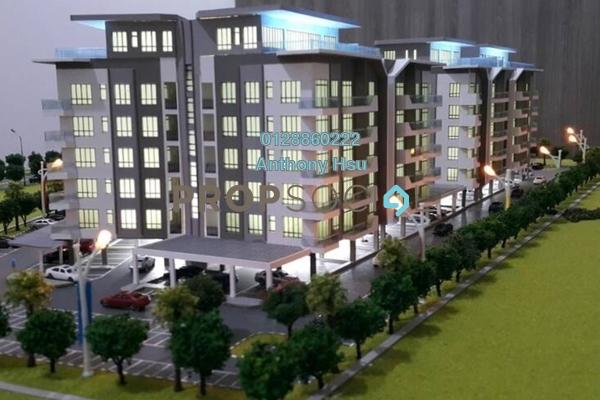 For Sale Condominium at Royal Oak, Kuching Leasehold Semi Furnished 3R/2B 569k