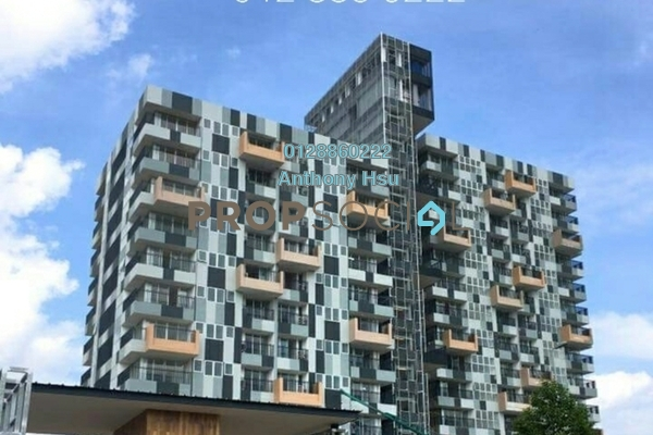For Sale Condominium at Eden-on-the-Park, Kuching Leasehold Semi Furnished 2R/2B 788k