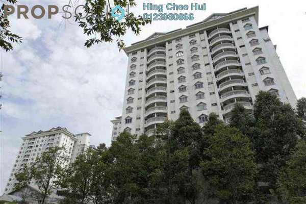 For Rent Condominium at Endah Villa, Sri Petaling Freehold Semi Furnished 3R/2B 1.8k