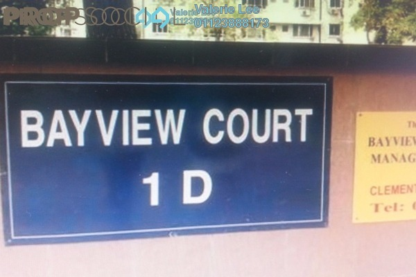 For Sale Apartment at Bayview Court, Old Klang Road Freehold Semi Furnished 3R/2B 230k