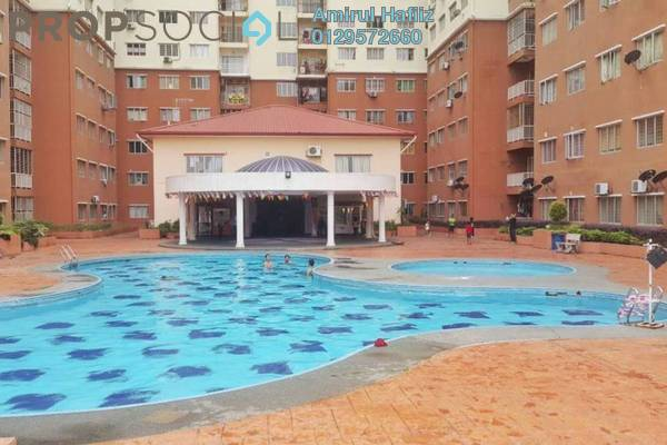 For Sale Apartment at Damai Mewah B Apartment, Kajang Freehold Unfurnished 3R/2B 270k