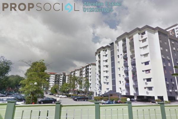 For Sale Condominium at Brem Park, Kuchai Lama Freehold Semi Furnished 3R/2B 380k