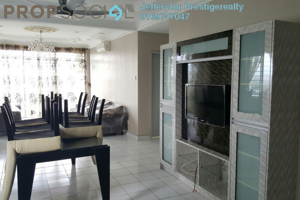 For Rent Condominium at Prima Setapak II, Setapak Freehold Semi Furnished 4R/3B 2.5k