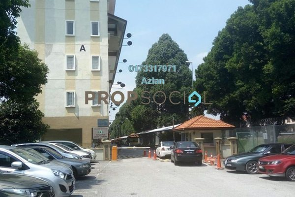 For Rent SoHo/Studio at Indah Cempaka, Pandan Indah Freehold Unfurnished 1R/1B 1.2k