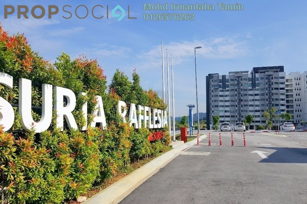For Sale Apartment at Suria Rafflesia, Setia Alam Freehold Unfurnished 3R/2B 275k