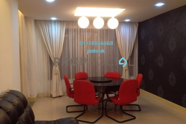 For Sale Condominium at Surian Condominiums, Mutiara Damansara Freehold Fully Furnished 5R/4B 1.48m