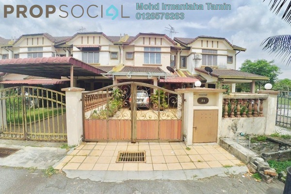 For Sale Terrace at Putra Bahagia, Putra Heights Freehold Semi Furnished 3R/3B 595k