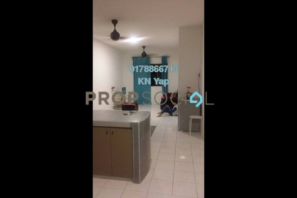 For Rent Apartment at Cemara Apartment, Bandar Sri Permaisuri Freehold Fully Furnished 3R/2B 1.3k