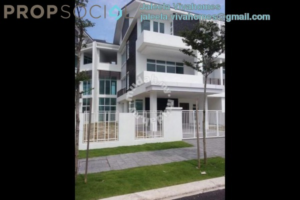 For Sale Terrace at Jelutong Heights, Bukit Jelutong Freehold Unfurnished 6R/6B 2.58m