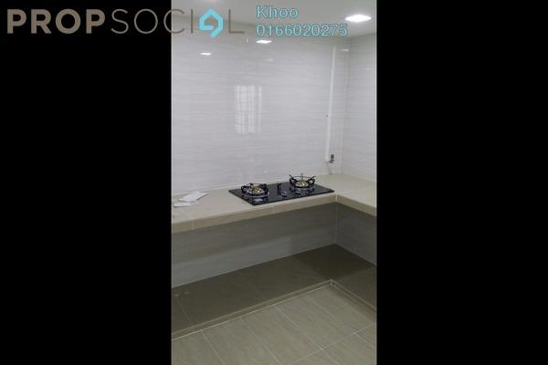 For Rent Condominium at PangsaRia, Desa Petaling Freehold Semi Furnished 3R/2B 1.1k