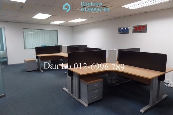 For Rent Office at Megan Avenue 1, KLCC Freehold Semi Furnished 3R/3B 6k