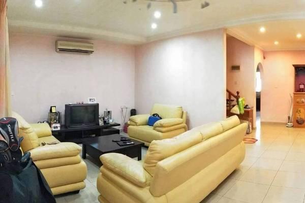 For Sale Terrace at Taman Desa Pengkalan, Ipoh Leasehold Semi Furnished 4R/3B 268k