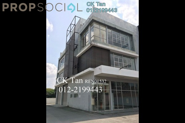 For Sale Factory at i-Parc1, Bukit Jelutong Freehold Semi Furnished 0R/6B 3.6m