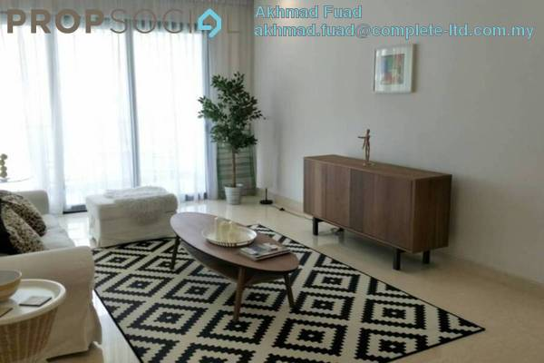 For Rent Condominium at Richmond, Mont Kiara Freehold Fully Furnished 3R/3B 4k