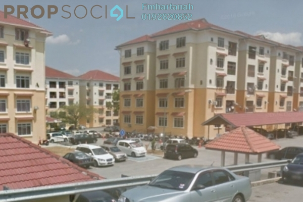 For Sale Apartment at E-mas Villa, Bandar Baru Salak Tinggi Freehold Unfurnished 3R/2B 220k