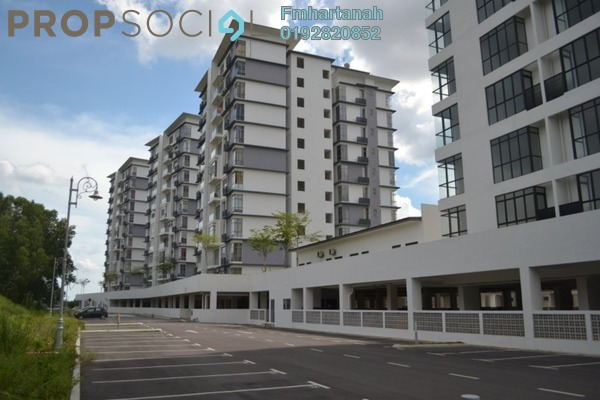 For Sale Condominium at Lakeview Residency, Cyberjaya Freehold Unfurnished 3R/2B 450k