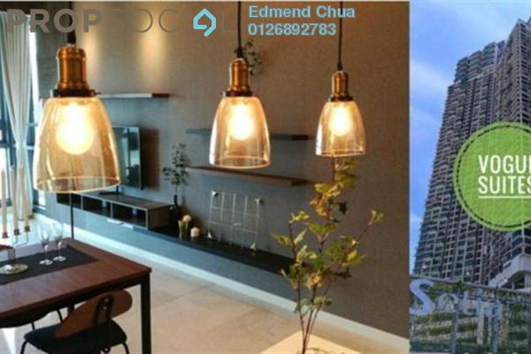 For Rent Apartment at Vogue Suites One @ KL Eco City, Mid Valley City Freehold Fully Furnished 2R/2B 5k