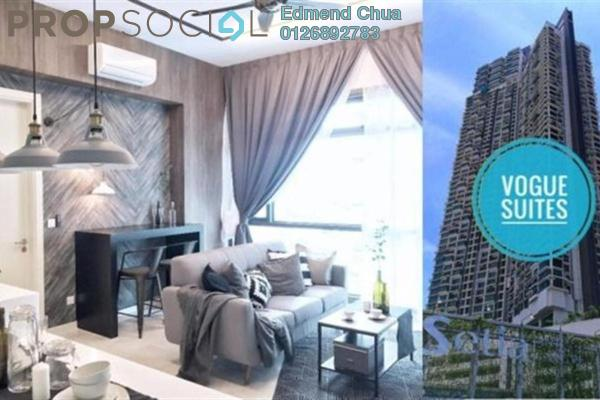 For Rent Apartment at Vogue Suites One @ KL Eco City, Mid Valley City Freehold Fully Furnished 1R/1B 3.6k