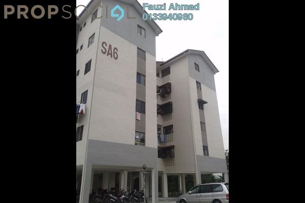 For Rent Apartment at Seksyen 7, Bandar Baru Bangi Freehold Semi Furnished 3R/2B 780translationmissing:en.pricing.unit