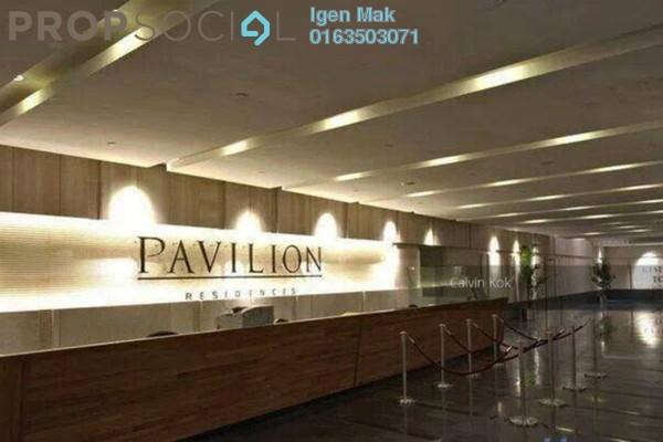 For Rent Condominium at Pavilion Residences, Bukit Bintang Freehold Fully Furnished 3R/3B 7.5k