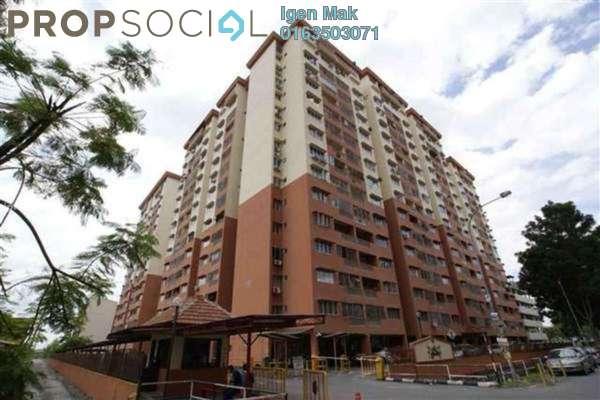 For Rent Apartment at Sri Camellia Apartment, Kajang Freehold Semi Furnished 3R/2B 1k