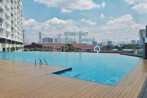 For Sale Condominium at Panorama Residences, Sentul Freehold Semi Furnished 3R/2B 510k