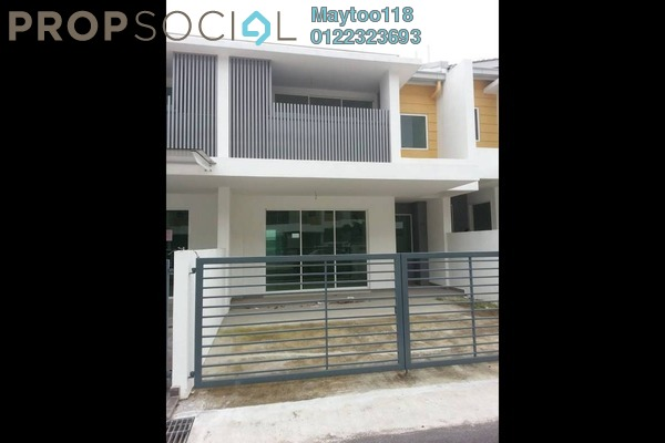 For Rent Terrace at Nadayu 92, Kajang Freehold Semi Furnished 3R/4B 1.4k