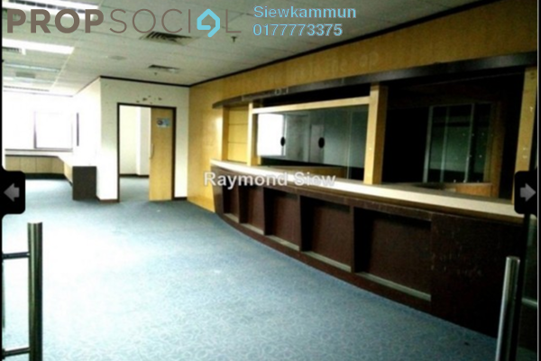 For Rent Office at Menara Zurich, Johor Bahru Freehold Semi Furnished 5R/2B 7k