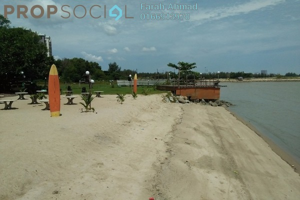 For Sale Serviced Residence at Marina Point, Klebang Freehold Fully Furnished 0R/2B 529k