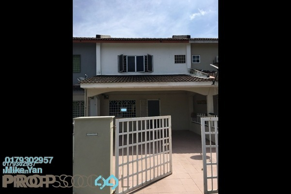 For Sale Terrace at Taman Kancing Jaya, Rawang Freehold Unfurnished 3R/2B 380k