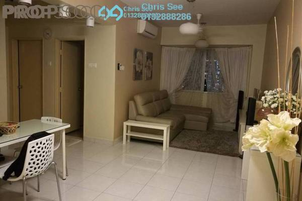 For Sale Condominium at Main Place Residence, UEP Subang Jaya Freehold Fully Furnished 2R/1B 458k
