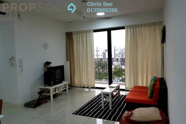 For Rent Condominium at Windows On The Park, Bandar Tun Hussein Onn Freehold Semi Furnished 3R/2B 2k