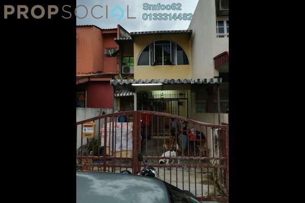 For Rent Terrace at Taman Sri Gombak, Batu Caves Freehold Semi Furnished 3R/2B 1.4k