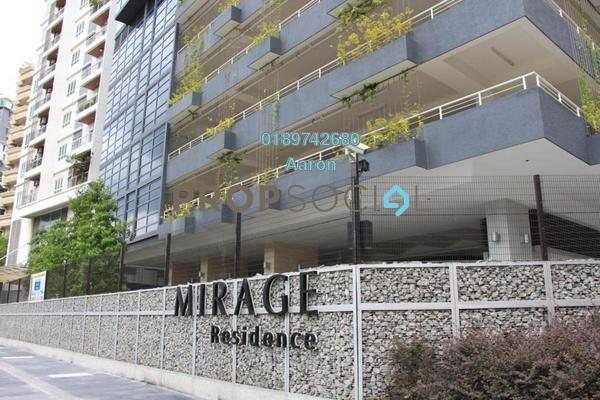 For Sale Condominium at Mirage Residence, KLCC Freehold Fully Furnished 2R/2B 2.21m
