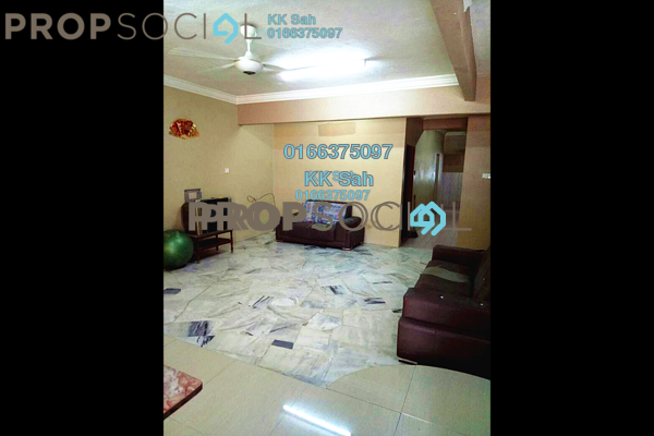 For Sale Terrace at Taman Yakin, Klang Freehold Semi Furnished 4R/3B 438k