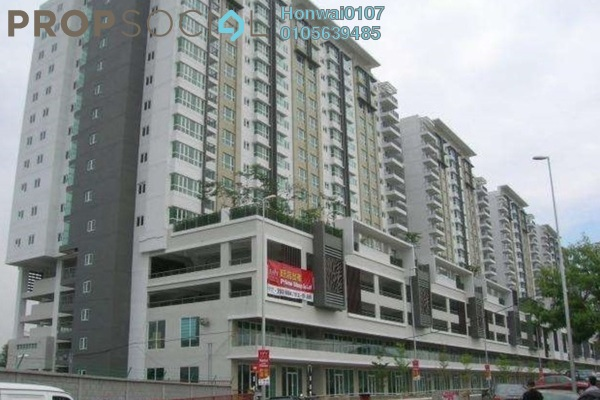For Rent Condominium at First Residence, Kepong Freehold Semi Furnished 3R/2B 1.7k