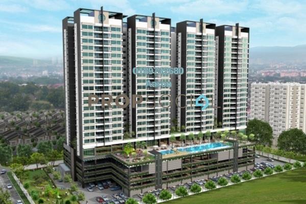 For Sale Condominium at 288 Residences, Kuchai Lama Freehold Semi Furnished 3R/2B 650k