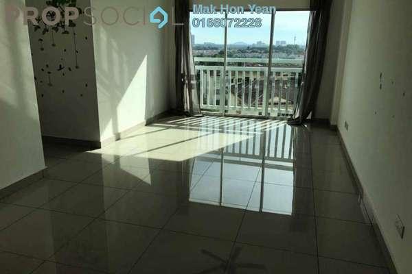 For Rent Apartment at Hijauan Puteri, Bandar Puteri Puchong Freehold Semi Furnished 3R/2B 1.4k