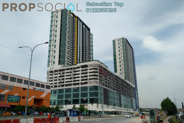 For Rent Condominium at EVO Soho Suites, Bandar Baru Bangi Freehold Unfurnished 1R/1B 1.2k