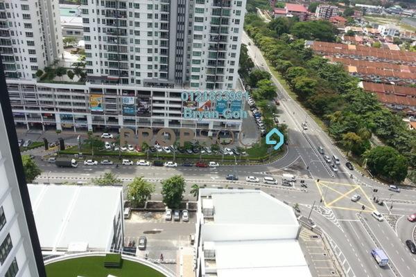 For Rent Condominium at Promenade Residence, Bayan Baru Freehold Semi Furnished 2R/2B 1.3k