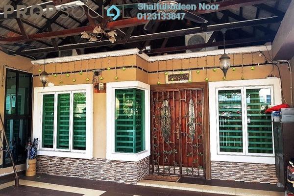 For Sale Terrace at Taman Sri Buloh, Shah Alam Freehold Semi Furnished 3R/2B 470k