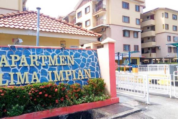 For Sale Apartment at Delima Impian Apartment, Juru Freehold Unfurnished 3R/2B 200k