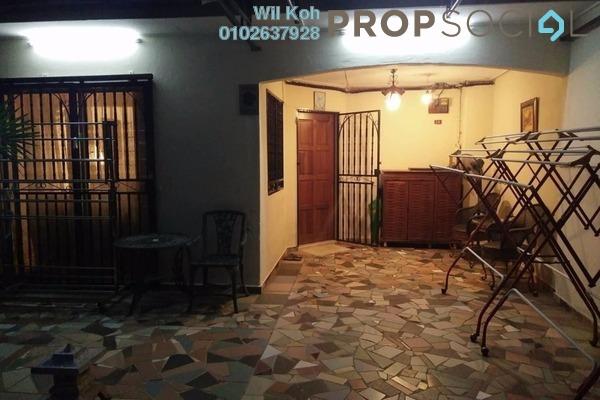 For Rent Terrace at Taman Kajang Utama, Kajang Freehold Fully Furnished 4R/3B 1.2k