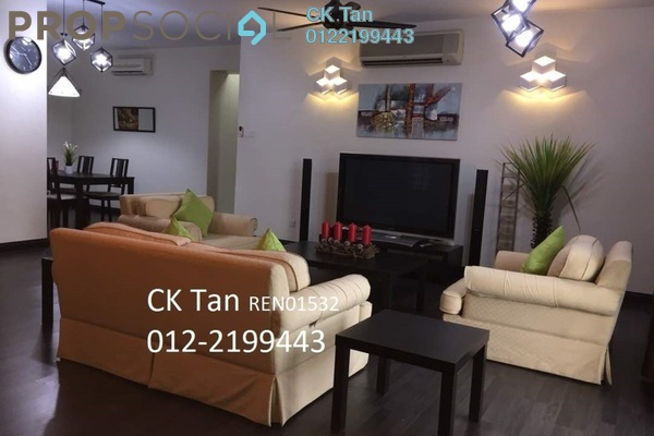 For Rent Condominium at Saujana Residency, Subang Jaya Freehold Fully Furnished 2R/2B 4k