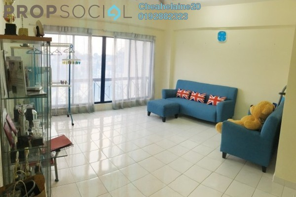 For Rent Condominium at Casa Venicia Condominium, Selayang Freehold Semi Furnished 2R/2B 1.2k