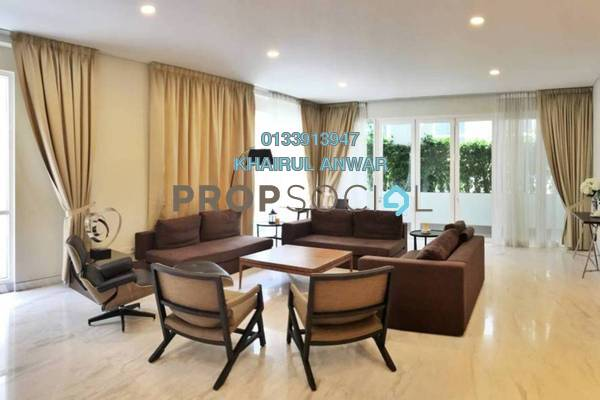 For Sale Condominium at Nobleton Crest, Ampang Hilir Freehold Semi Furnished 5R/4B 3.7m