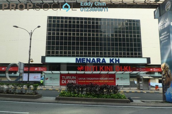 For Sale Office at Crest Jalan Sultan Ismail, KLCC Freehold Semi Furnished 0R/0B 520k
