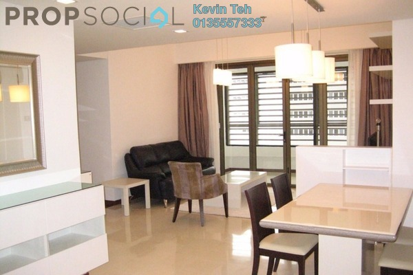 For Rent Condominium at i-Zen Kiara II, Mont Kiara Freehold Fully Furnished 4R/3B 5k