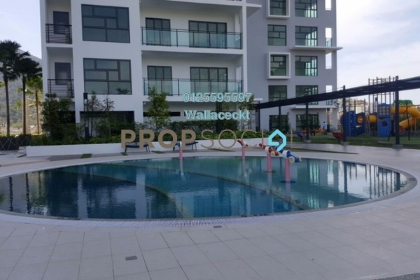 For Rent Condominium at Mira Residence, Tanjung Bungah Freehold Semi Furnished 3R/4B 5k