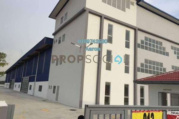 For Rent Factory at Section U5, Subang Freehold Semi Furnished 0R/0B 21k